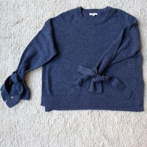 NWT Madewell marled blue sweater